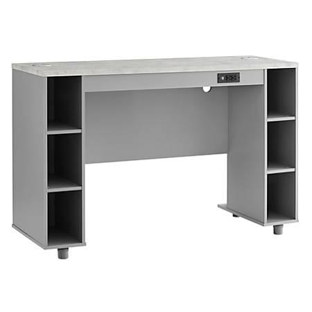 Ameriwood™ Home Latitude Rectangle Work Bench, Gray