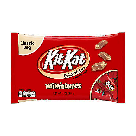 Kit Kat® Miniatures Bags, 11 Oz, Pack Of 3 Bags