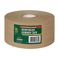 Duck Reinforced Kraft Gummed Paper Tape