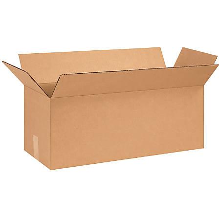 "Office Depot® Brand Corrugated Cartons, 26"" x 10"" x 10"", Kraft, Pack Of 25"