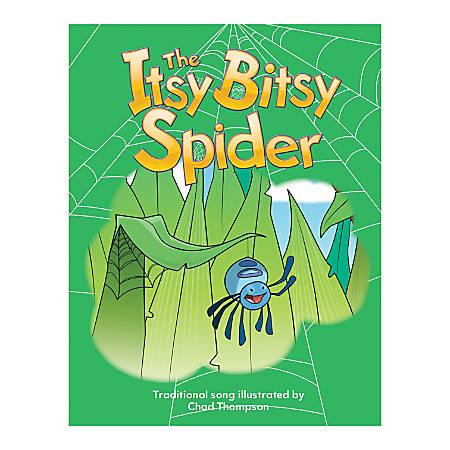 Teacher Created Materials Big Book, Itsy Bitsy Spider, Pre-K - Grade 1