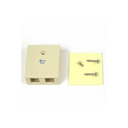 Belkin 2-Position Surface Mounting Box