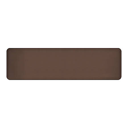"GelPro NewLife EcoPro Commercial Grade Anti-Fatigue Floor Mat, 72"" x 20"", Brown"