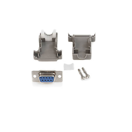 StarTech.com Solder D-SUB - Assembled - Plastic Backshell Serial / parallel connector - DB-9 (F) - DB-9