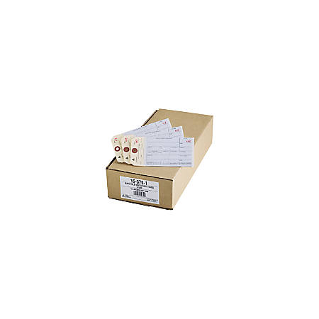 "Avery® Duplicate Inventory Tags, 3 1/8"" x 6 1/4"", Manila, Pack Of 500"
