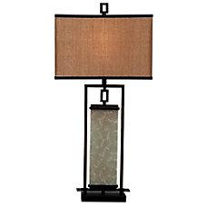 Kenroy Plateau Table Lamp BronzeGold