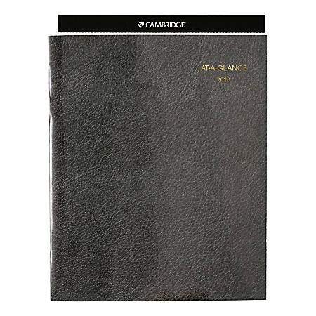 "AT-A-GLANCE® Executive 13-Month Monthly Padfolio Refill, 11"" x 9"", 30% Recycled, January 2020 To January 2021, AAG70909"