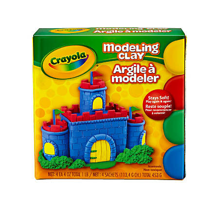 Crayola® Modeling Clay, Assorted Colors