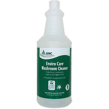 RMC Washroom Cleaner Spray Bottle - Suitable For Cleaning - 48 / Carton