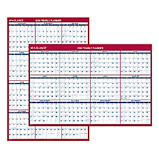 AT A GLANCE Jumbo ErasableReversible Yearly
