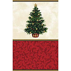 Amscan Classic Christmas Tree Paper Table