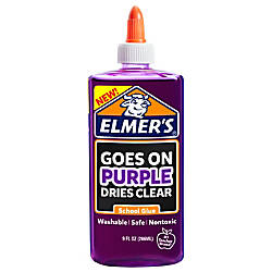 Elmers Disappearing School Glue Purple 9