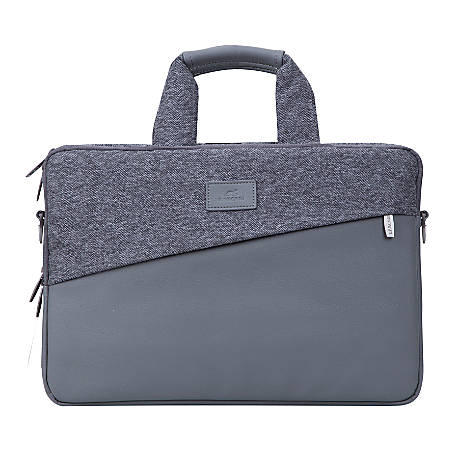 Rivacase 7930 Egmont Laptop Bag For 15 Macbook Pro And Ultrabook Laptops Gray Item 9476032