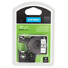 DYMO D1 41913 Black On White