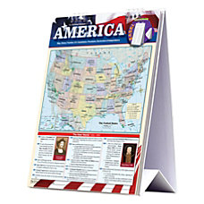 QuickStudy Easel The United States Of