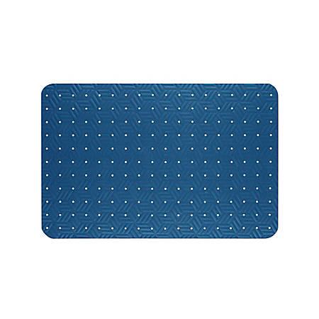 """The Andersen Company Wet Step Antifatigue Floor Mat, 36"""" x 60"""", Blue"""