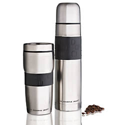 Sharper Image Thermobottle And Travel Mug