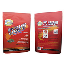 Spill Magic Biohazard Spill Cleanup Kit
