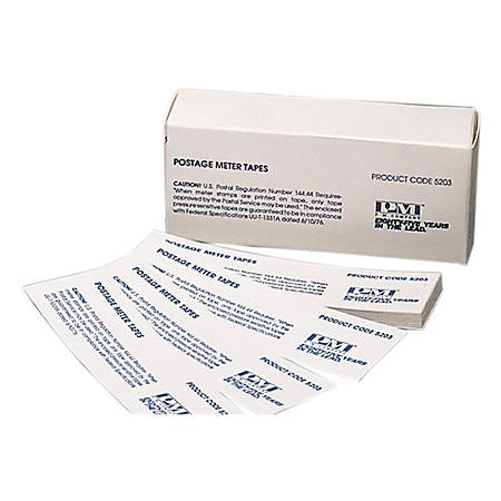 "PM™ Company Pressure-Sensitive Postage Meter Labels, PMF5203, 1 21/32"" x 5 1/2"", Pack Of 300"