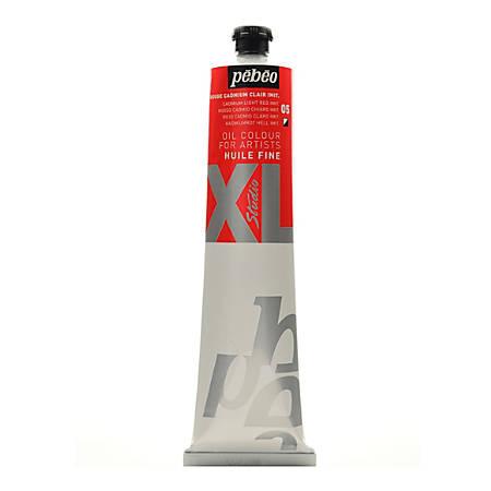 Pebeo Studio XL Oil Paint, 200 mL, Cadmium Light Red Hue, Pack Of 2