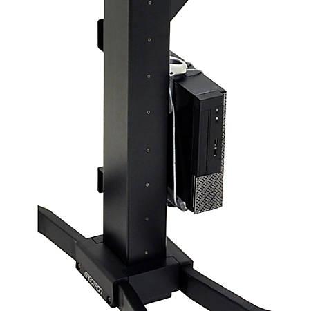 Ergotron WorkFit CPU Mount for CPU - 40 lb Load Capacity - Steel
