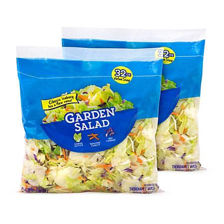 Taylor Farms Garden Salad Mix, 32-Oz Bag, Pack Of 2 Bags