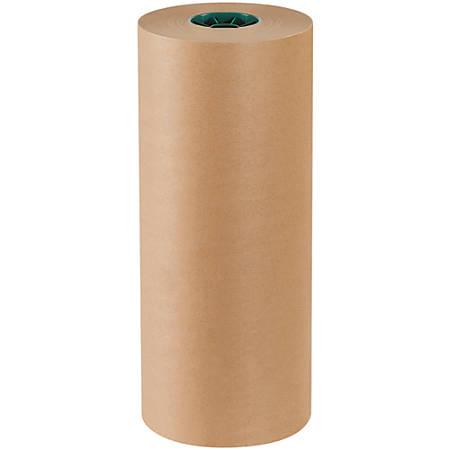 "Office Depot® Brand Poly-Coated Kraft Paper, Roll, 18"" x 600', Kraft"