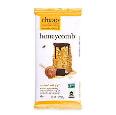 Chuao Dark Chocolate Honeycomb With Caramelized