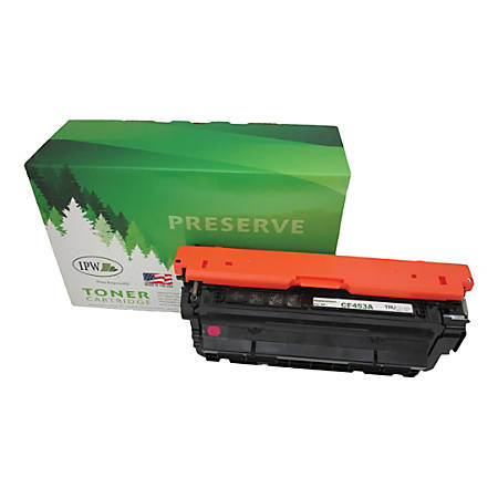 IPW Preserve 545-453-ODP (HP 655A / CF453A) Remanufactured Magenta Toner Cartridge