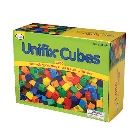 Didax Unifix® Cube Set, Multicolor, Pack Of 1,000