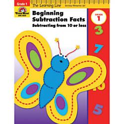 Evan Moor Learning Line Beginning Subtraction