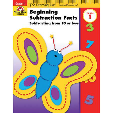 Evan-Moor® Learning Line: Beginning Subtraction, Grade 1