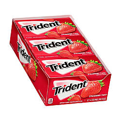 Trident Sugar Free Strawberry Twist Gum