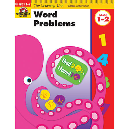 Evan-Moor® Learning Line: Word Problems, Grades 1-2