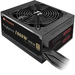 Thermaltake Toughpower ATX12V & EPS12V Power Supply - Internal - 120 V AC, 230 V AC Input - 1000 W / 3.3 V DC, 5 V DC, 12 V DC, -12 V DC, 5 V DC - Active PFC - 1 +12V Rails - 1 Fan(s) - 92% Efficiency