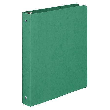 """Wilson Jones® Flexible Ring Binder, 8 1/2"""" x 11"""", Dark Green"""