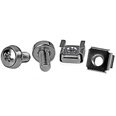 StarTechcom M6 Mounting Screws With Cage
