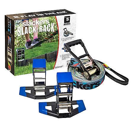 Slackers Slack Rack Portable Slackline and Balance Beam