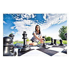 4Fun Jumbo Chess And Checkers Set