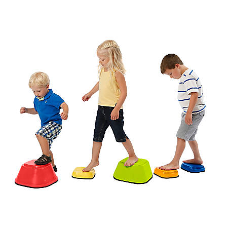 Playzone-Fit Stepping Stones, Multicolor