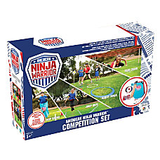 American Ninja Warrior Competition Set
