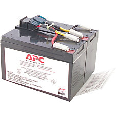 APC Replacement Battery Cartridge 48 Spill