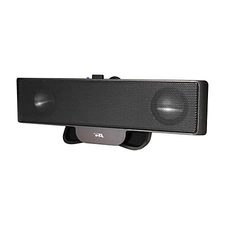 Cyber Acoustics CA-2880 USB-Powered Speaker, Black