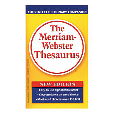 Merriam Websters Thesaurus Pack Of 3