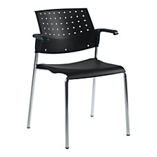 Global Sonic Stacking Chairs With Arms