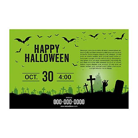 Poster Templates, Horizontal, Green Background