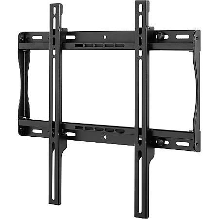 "Peerless SmartMount Universal Flat Wall Mount - Up to 150lb - 23"", 46"" Flat Panel Display, Flat Panel Display - Black"