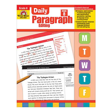 Evan-Moor® Daily Paragraph Editing, Grade 8