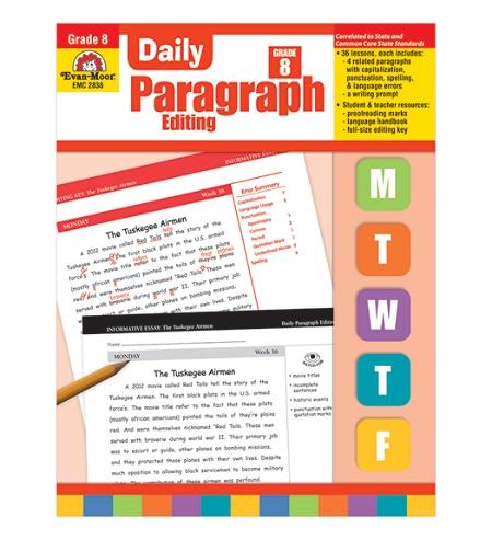 Evan-Moor® Daily Paragraph Editing, Grade 8 Item # 949426
