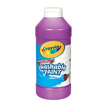 Crayola® Washable Paint, Violet, 16 Oz
